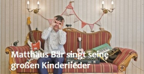 Kinderkonzert mit Matthäus Bär