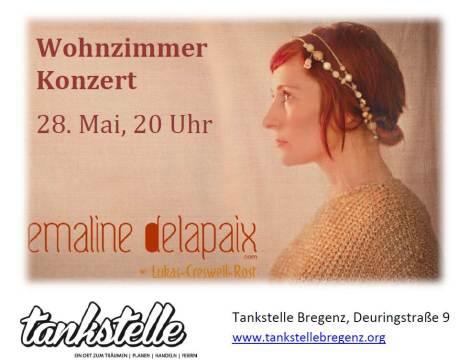 Wohnzimmerkonzert: Emaline Delapaix