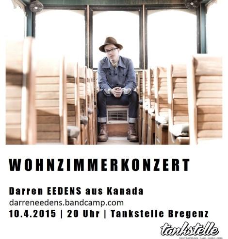 10.4.2015 Darren EEDENS Wohnzimmerkonzert